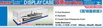 Display Case w/Mirror Base 359x89x89mm WxLxH · TRU 09851 ·  Trumpeter