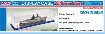 Display Case w/Mirror Base 501x149x121mm WxLxH · TRU 09853 ·  Trumpeter