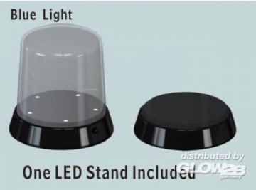 Roundtpo Display case-Led stand(Ø84x115 · TRU 09861 ·  Trumpeter
