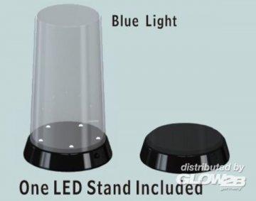 Flat top Display case-Led stand (84x185mm) · TRU 09864 ·  Trumpeter