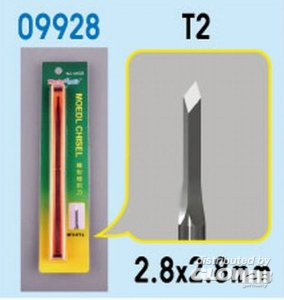 Model Chisel - T2 · TRU 09928 ·  Trumpeter
