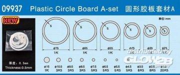 Plastic Circle Board A-set · TRU 09937 ·  Trumpeter