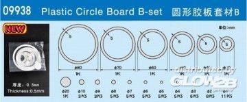 Plastic Circle Board B-set · TRU 09938 ·  Trumpeter