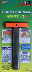 Stainless T Ruler S-size · TRU 09977 ·  Trumpeter