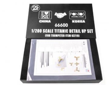 Titanic - Detail up set [Trumpeter] · TRU 66600 ·  Trumpeter · 1:200
