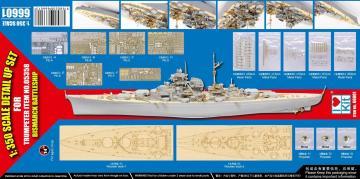 Bismarck 1941 - Detail up set · TRU 66601 ·  Trumpeter · 1:350
