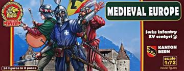Swiss infantry - Kanton Bern - XV century · UR 7208 ·  Ultima Ratio · 1:72