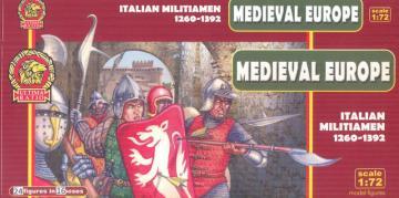 Italian Militiamen - 1260-1392 · UR 7211 ·  Ultima Ratio · 1:72