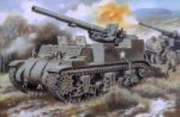 M12 U.S. 155mm self-propelled gun · UM 211 ·  Unimodels · 1:72