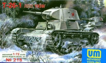 T-26 Light Tank 1939 · UM 218 ·  Unimodels · 1:72