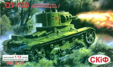 Flammenwerferpanzer OT-130 · UM 219 ·  Unimodels · 1:72
