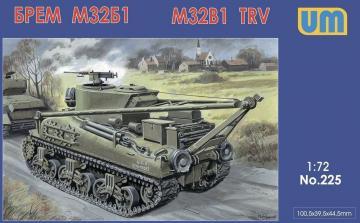M32B1 tank recovery vehicle · UM 225 ·  Unimodels · 1:72