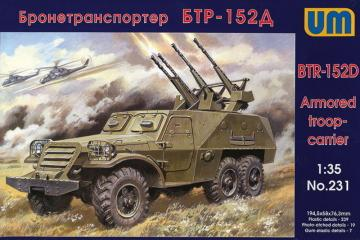 BTR-152D · UM 231 ·  Unimodels · 1:35