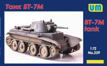 BT-7M tank · UM 239 ·  Unimodels · 1:72
