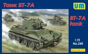 BT-7 Tank · UM 240 ·  Unimodels · 1:72