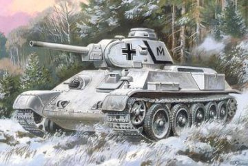 T-34/76 Tank with resin parts · UM 251 ·  Unimodels · 1:72
