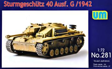 Sturmgeschutz 40 Ausf.G, early · UM 281 ·  Unimodels · 1:72