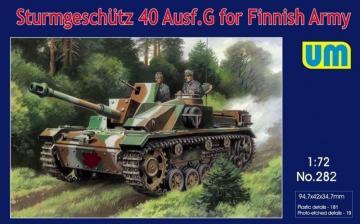 Sturmgeschutz 40 Ausf.G for Finnish Army · UM 282 ·  Unimodels · 1:72