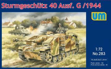 Sturmgeschutz 40 Ausf.G/1944 · UM 283 ·  Unimodels · 1:72