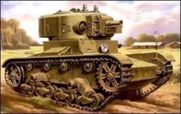 Tank T-26-4 · UM 315 ·  Unimodels · 1:72