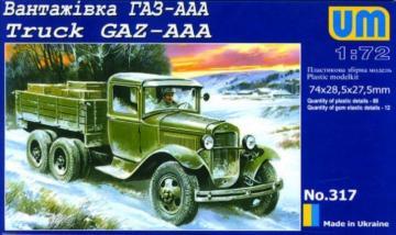 Truck GAZ-AAA · UM 317 ·  Unimodels · 1:72