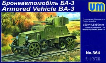 Armored Vehicle BA-3 · UM 320 ·  Unimodels · 1:72