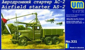 Airfield starter AS-2 · UM 321 ·  Unimodels · 1:72