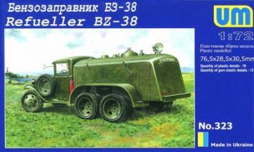 Refueller BZ-38 · UM 323 ·  Unimodels · 1:72
