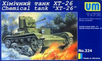 Chemical tank XT-26 · UM 324 ·  Unimodels · 1:72