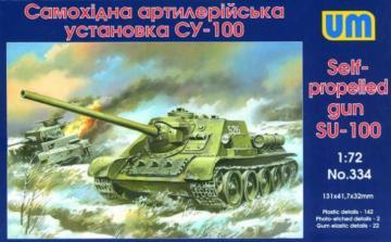 SU-100 · UM 334 ·  Unimodels · 1:72