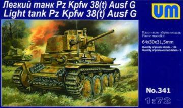 PzKpfw 38(t)-G · UM 341 ·  Unimodels · 1:72