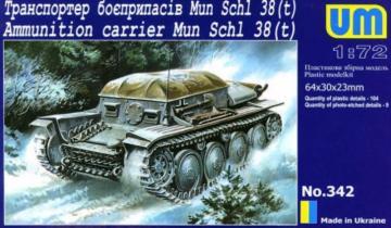 Munitions Schlepper 38 (t) · UM 342 ·  Unimodels · 1:72