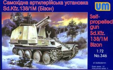 Sd.kfz138/1M Bizon · UM 346 ·  Unimodels · 1:72