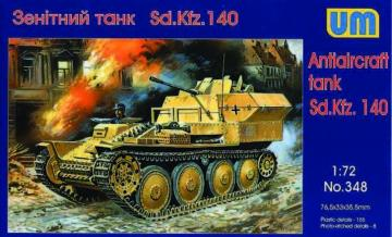 Sd.Kfz 140 Flakpanzer · UM 348 ·  Unimodels · 1:72
