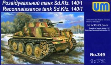 Sd. Kfz. 140/1 · UM 349 ·  Unimodels · 1:72
