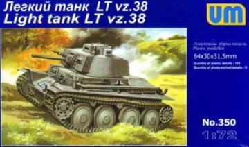 LTvz38 ´´Praga´´ · UM 350 ·  Unimodels · 1:72