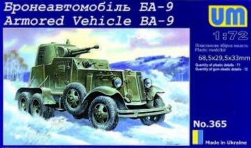 Schützenpanzer BA-9 · UM 365 ·  Unimodels · 1:72