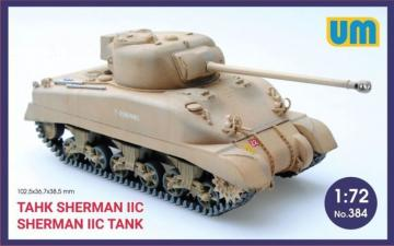 Medium Tank Sherman IIC · UM 384 ·  Unimodels · 1:72