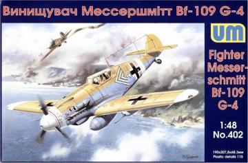Messerschmitt Bf 109 G-4/R 3 · UM 402 ·  Unimodels · 1:72