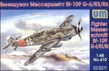 Messerschmitt Bf 109 G-6/R 3/R 6 · UM 410 ·  Unimodels · 1:48