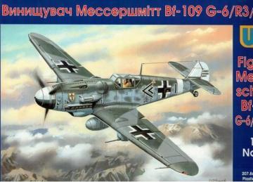 Messerschmitt Bf 109 G-6/R 3 Trop · UM 416 ·  Unimodels · 1:48