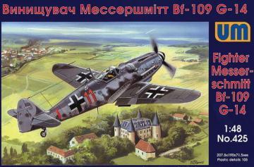 Messerschmitt Bf 109 G-14 · UM 425 ·  Unimodels · 1:48