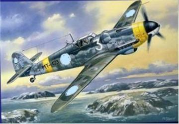 Messerschmitt Bf 109 G-6/R 3 (Finish AirForce) · UM 432 ·  Unimodels · 1:48