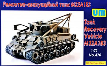M32A1B3 Recovery vehicle tank · UM 470 ·  Unimodels · 1:72