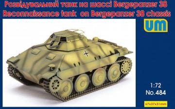 Reconnaissance tank on Bergepanzer 38 chassis · UM 484 ·  Unimodels · 1:72