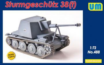 Sturmgeschutz 38 (t) · UM 488 ·  Unimodels · 1:72