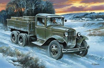 Soviet truck GAZ-AAA · UM 503 ·  Unimodels · 1:48