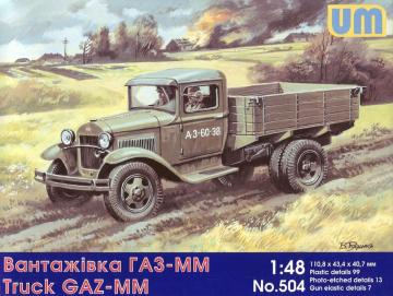 GAZ-MM Soviet truck · UM 504 ·  Unimodels · 1:48