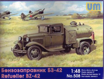 BZ-42 refuel truck · UM 508 ·  Unimodels · 1:48