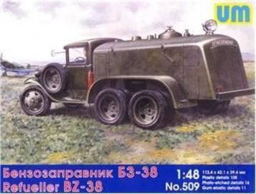BZ-38 refuel truck · UM 509 ·  Unimodels · 1:48